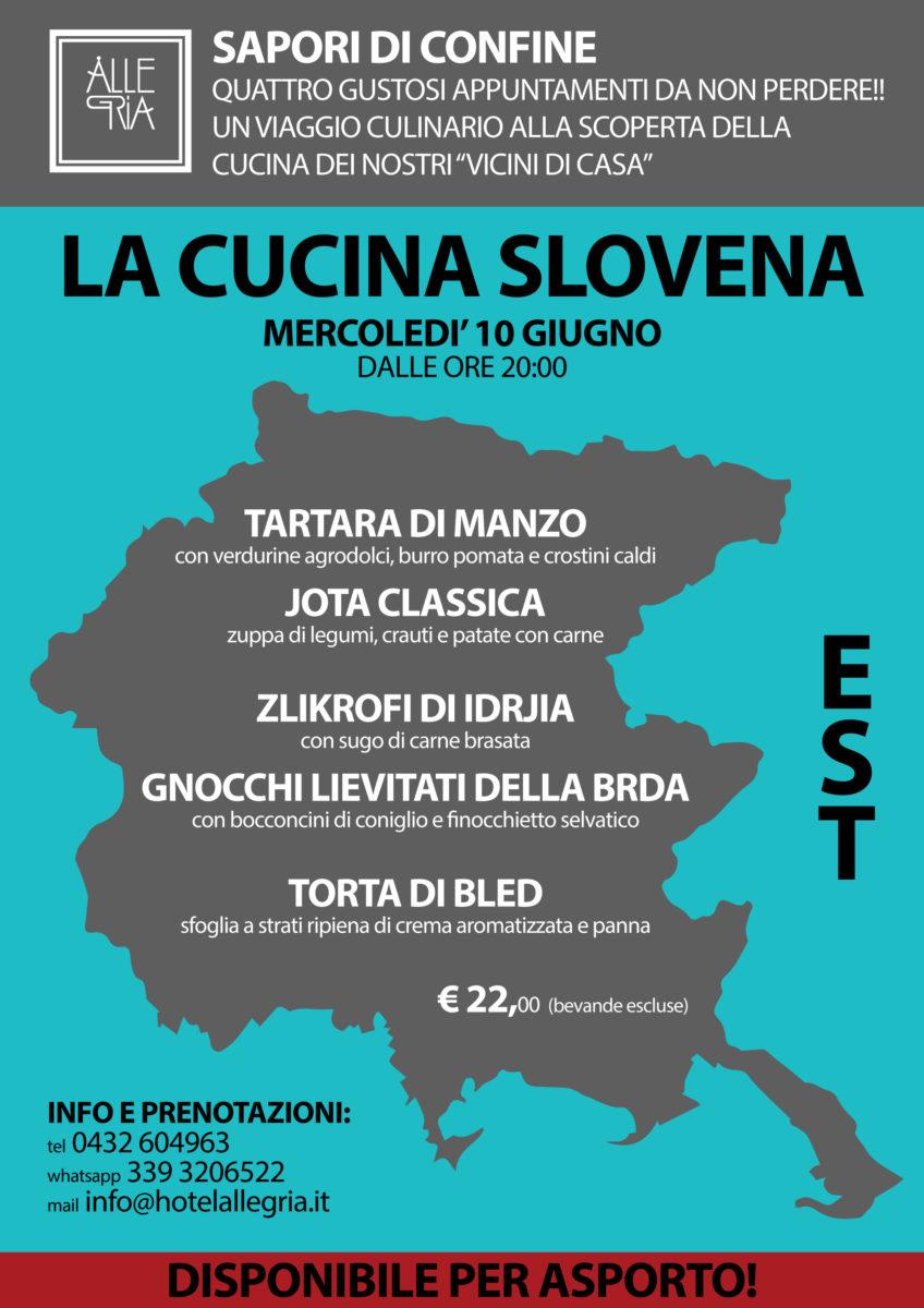 (Italiano) Sapori di Confine – La Cucina Slovena – 10 Giugno 2020