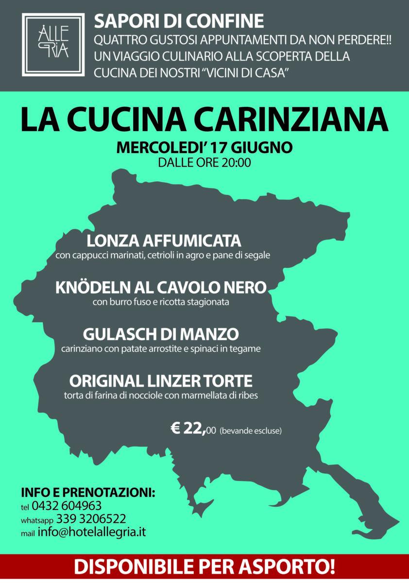 Sapori di Confine – La Cucina Slovena – 10 Giugno 2020